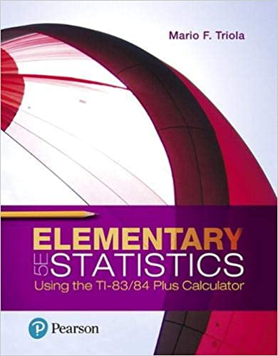Elementary Statistics Using the TI-83/84 Plus Calculator (5th Edition) - Original PDF